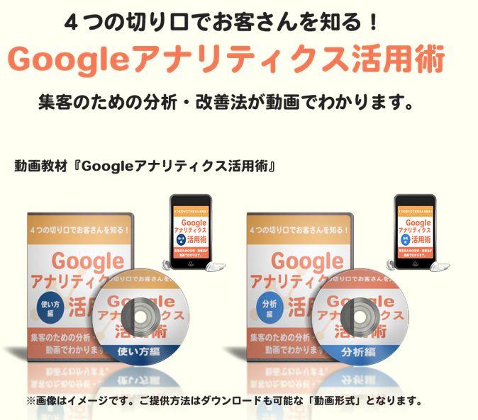 Googleアナリティクス活用術(情報商材マニュアル)