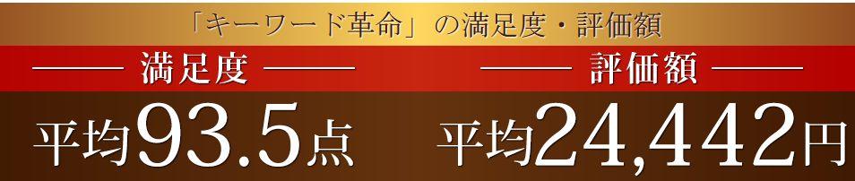 キーワード革命 評判 口コミ 特典
